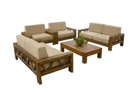 Sofa Kayu Solid Solid Wooden Sofa Set Home D 233 Cor Home D 233 Cor Furniture Housandreams Chunky Bits