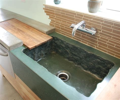 Concrete Countertop With Sink by Concrete Sink Concrete Sinks Dc Custom Concrete San Diego Ca Cool Design Things