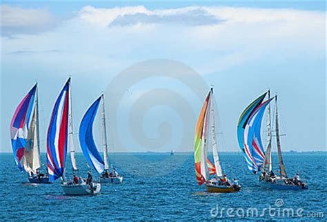 sailboat race  colorful sails   sailboats royalty