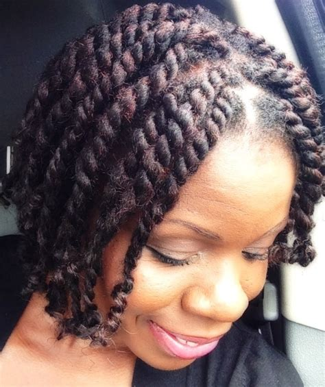 how to install marley twists on short natural hair natural hair short chunky twists with marley hair twisted