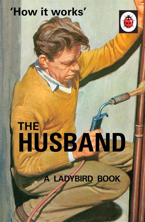 the husband books how it works the husband ladybird books for grown ups