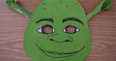 printable shrek mask before your outdoor movie you could have all of the