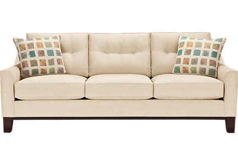 cindy crawford sofa collection cindy crawford home montclair vanilla sofa isofa hidden