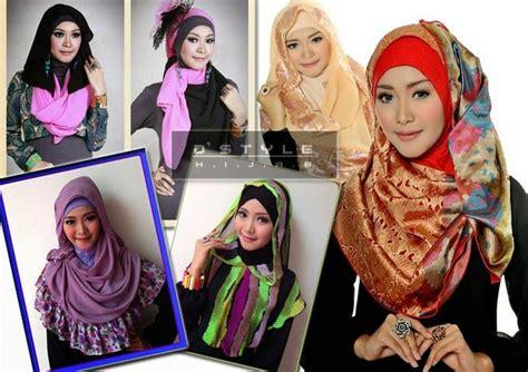 tutorial gaya berhijab tips berhijab komunitas hijabers fashion moslem