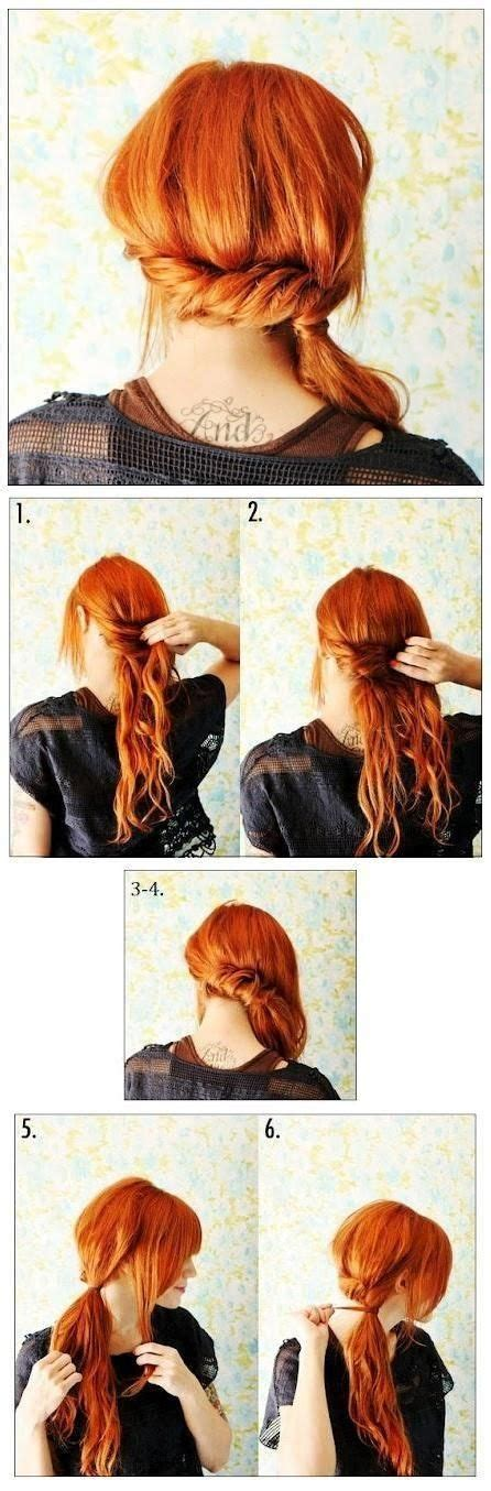 easy hairstyles to do in the morning for school 21 hairstyles you can do in less than five minutes my