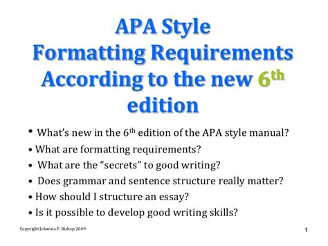 apa 6th edition paper template 6th ed apa style manual