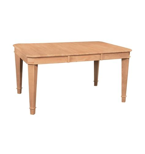 58 inch tuscany dining table wood n things furniture