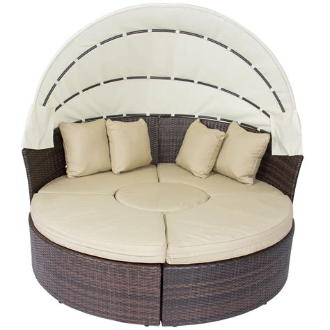 outdoor sofa with canopy round outdoor sofa catalina 6 piece outdoor wicker seating