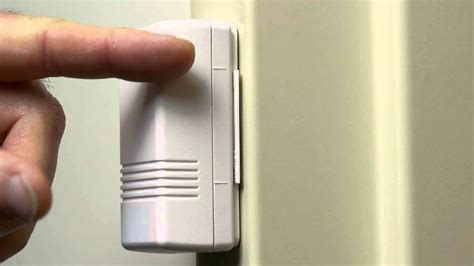 re attaching a door or window sensor adt home security