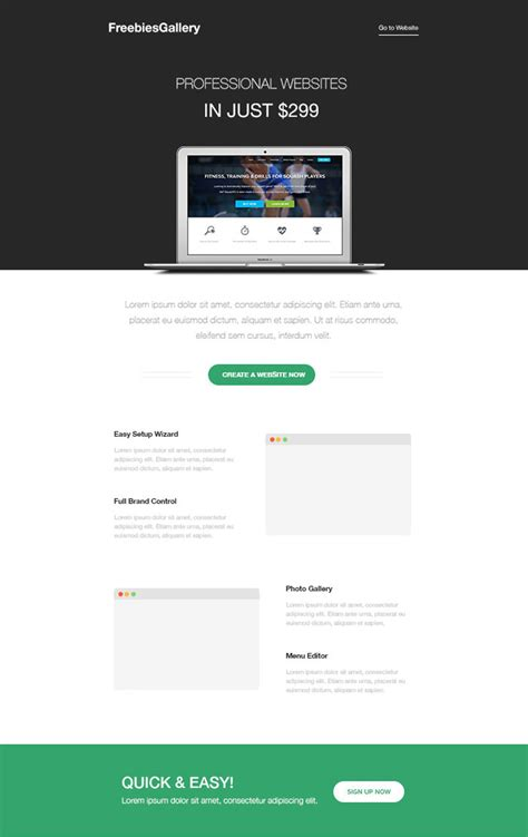 free mailchimp email templates 20 free business newsletter templates to hongkiat