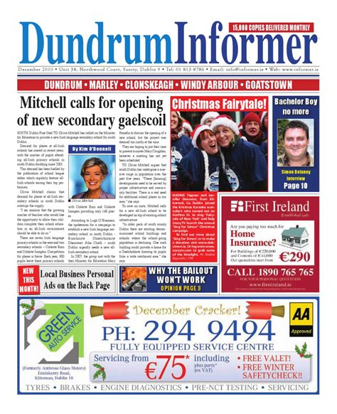 issuu jambi independent 01 desember 2010 by dundrum informer dec 2010 by niall gormley issuu