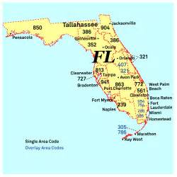 map of florida ta area nanpa number resources npa area codes
