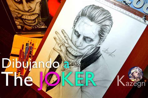 imagenes a lapiz del joker joker suicide squad dibujo a l 225 piz youtube