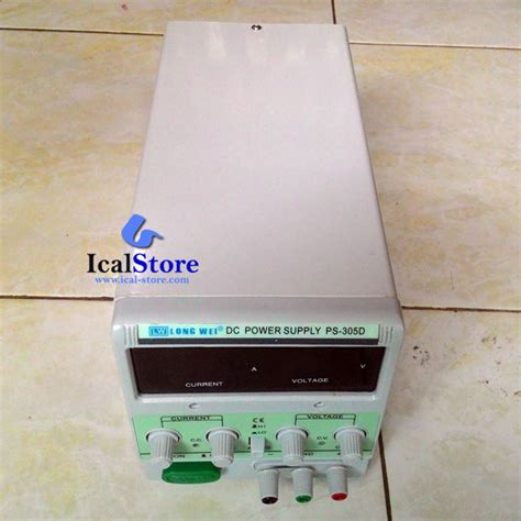 Power Supply Dc Digital Wei power supply dc wei ps 305d 0 30v 0 5a ical store