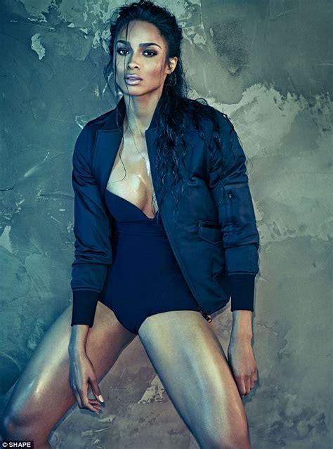 Ciara Top ciara flaunts 60lb weight loss in tight and see