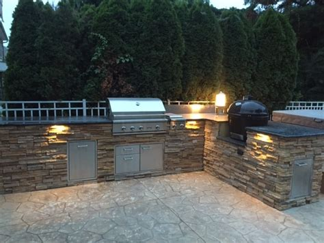 outdoor kitchens nj outdoor kitchens marlboro nj by plush landscaping