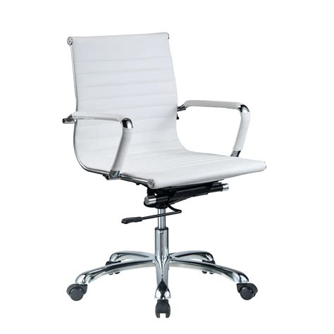 Zuo Modern Office Chair Full Image For White Leather Desk White Leather Desk Chairs