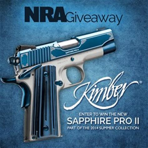 Kimber Giveaway - nra ila nra giveaway winner s gallery