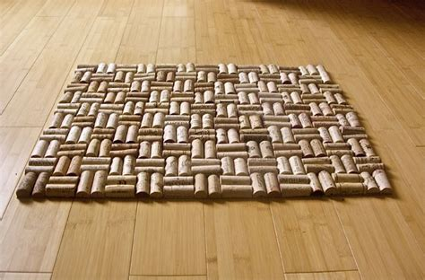 Cork Rug wine cork rug home