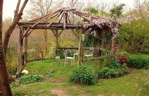 Rustic Gazebo by Rustic Gazebo Garden Ideas Pinterest