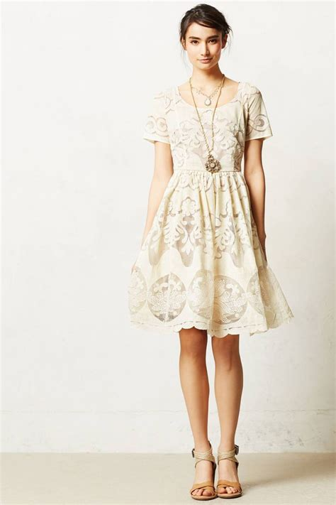 dress anthropologie ivoire dress anthropologie wardrobe