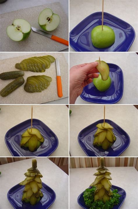 diy edible decorations edible trees eye catching and