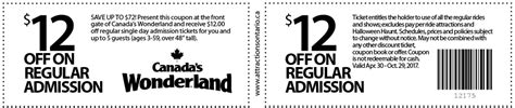 haircut coupons toronto canada s wonderland coupon attractions ontario