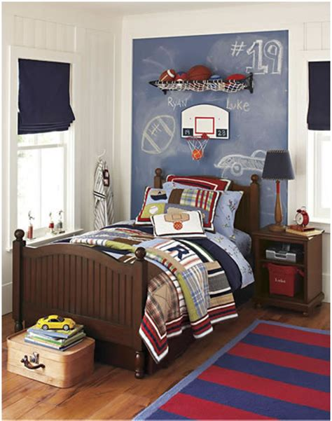 Boy Bedroom Young Boys Sports Bedroom Themes Home Decorating Ideas