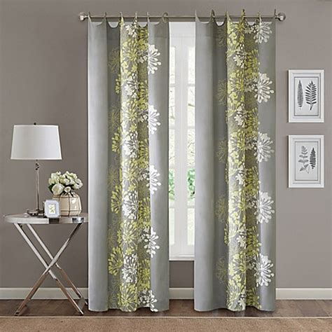 green walls grey curtains madison park serendipity 84 inch window curtain panel in