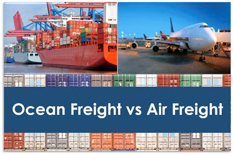 freight vs air freight which is best for you