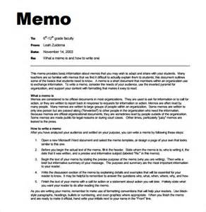 Memo Template For Pages 7 Memo Templates Excel Pdf Formats