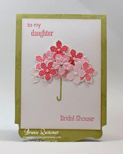 bridal shower cards to make petals bridal shower