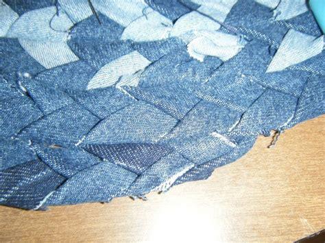 how to make a denim rag rug braided denim rag rug 183 how to make a rag rug 183 braiding on cut out keep