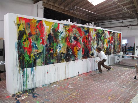 large paintings daniel maltzman studio artist