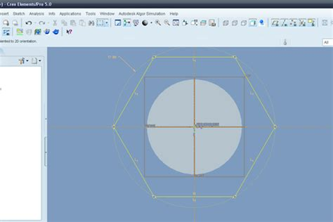pattern sketch in creo tutorial modeling bolt with terminating thread in creo