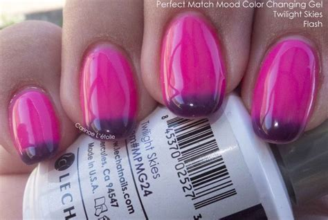 perfect match colors perfect match mood color changing gel twilight skies