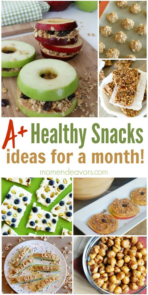 snack ideas a month of healthy snack ideas easy creative ideas