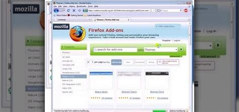 firefox themes how to how to find download install firefox themes or skins