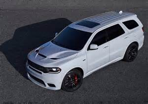 dodge durango srt revealed fastest most powerful 7 seat