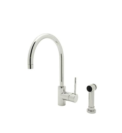 Rohl Kitchen Faucets Reviews Rohl Ls457 Modern Architectural Side Lever Kitchen Faucet