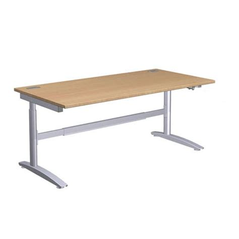 height of an office desk height adjustable office desk 1200mm choice of colours