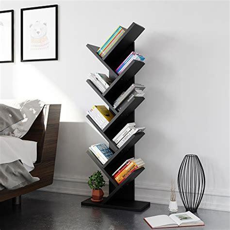 Modern Book Rack Designs | tribesigns 9 shelf tree shaped bookcase book shelf modern