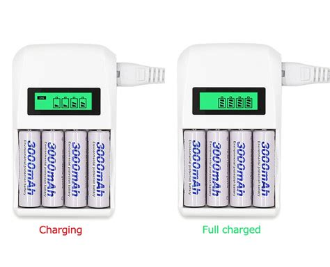 Fas Charger Aa Aaa Isi 2 Recharger Battery Rd 101 Original battery charger 4 slot for aa aaa nicd nimh white jakartanotebook