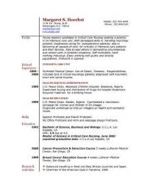Resume Exles For Experience by The Best Resume Format Experience Resume Sle 981