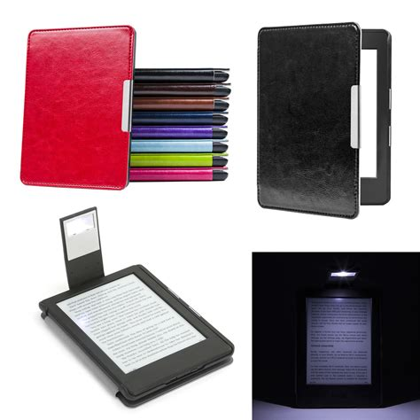 amazon kindle 8th generation slim folio leather case cover slim light for new amazon