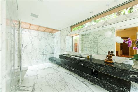 calacatta marble bathroom brisbane granite and marble high quality stone installations