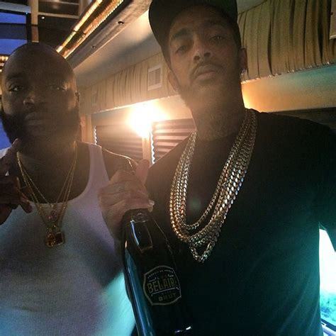 rick ross shows off dramatic weight loss rap up rick ross with nipsey hussle showing off his dramatic