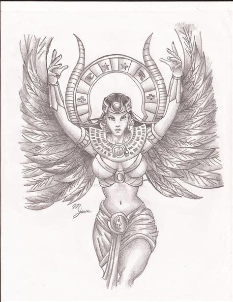queen isis tattoo goddess isis by elliotpoison on deviantart