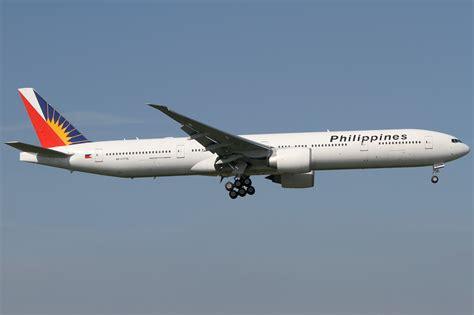 philippine airlines boeing 777 flights file philippine airlines boeing 777 300er rp c7776 lhr
