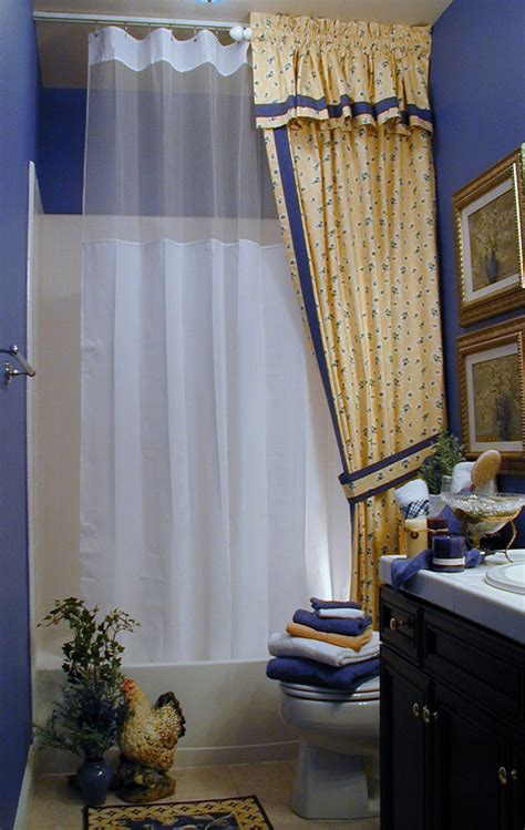 baroque extra wide shower curtain decoration ideas